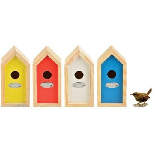 nichoir pour roitelet oiseau jardin