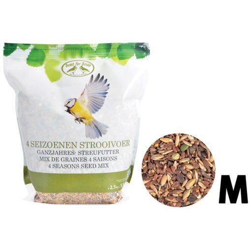 mix de graines 4 saisons pour oiseaux 2,5kg