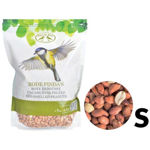 cacahuètes pelées oiseaux
