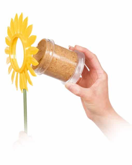 mangeoire flutter butter fleur pot