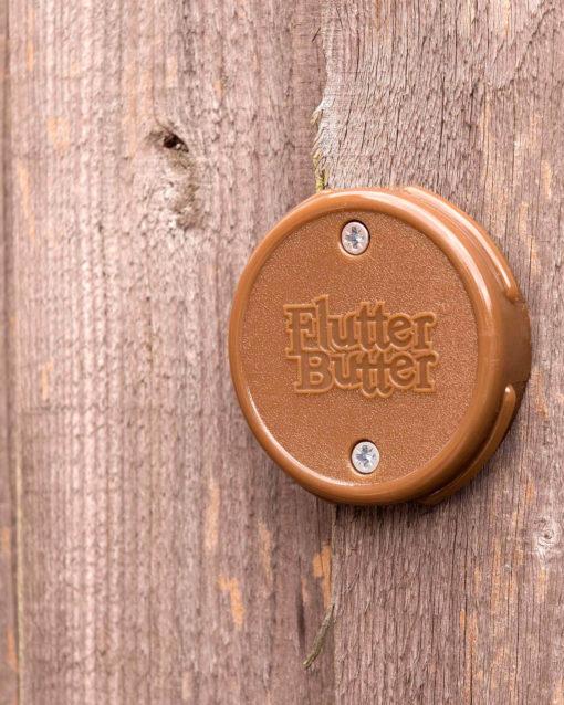 Flutter butter mangeoire murale