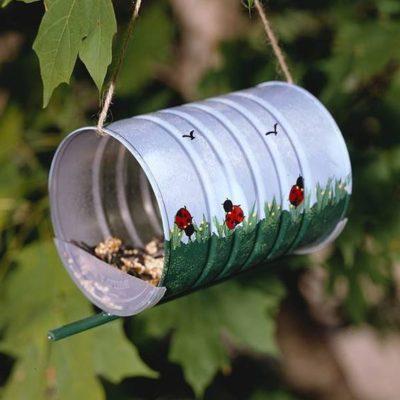 fabriquer mangeoire oiseaux boite