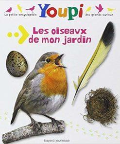 livre youpi les oiseaux de mon jardin